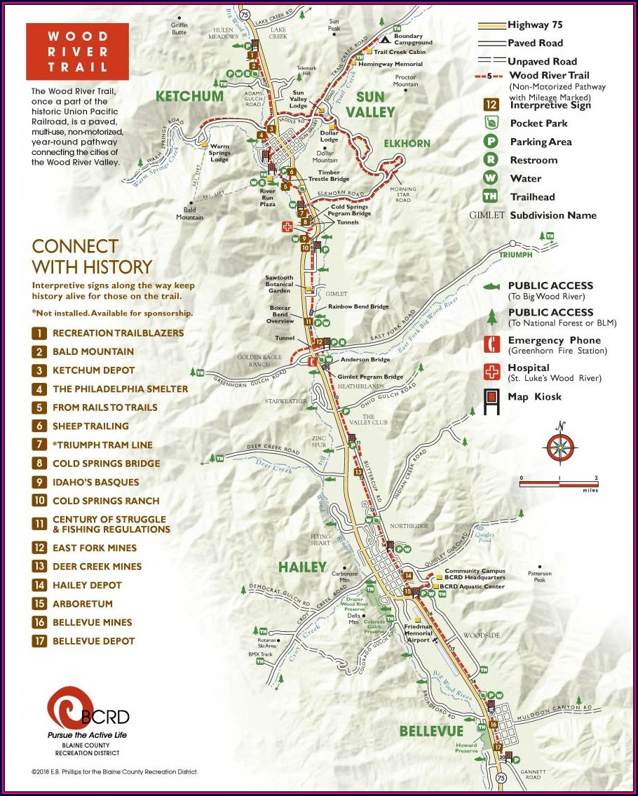 Harriman Trail Map Sun Valley