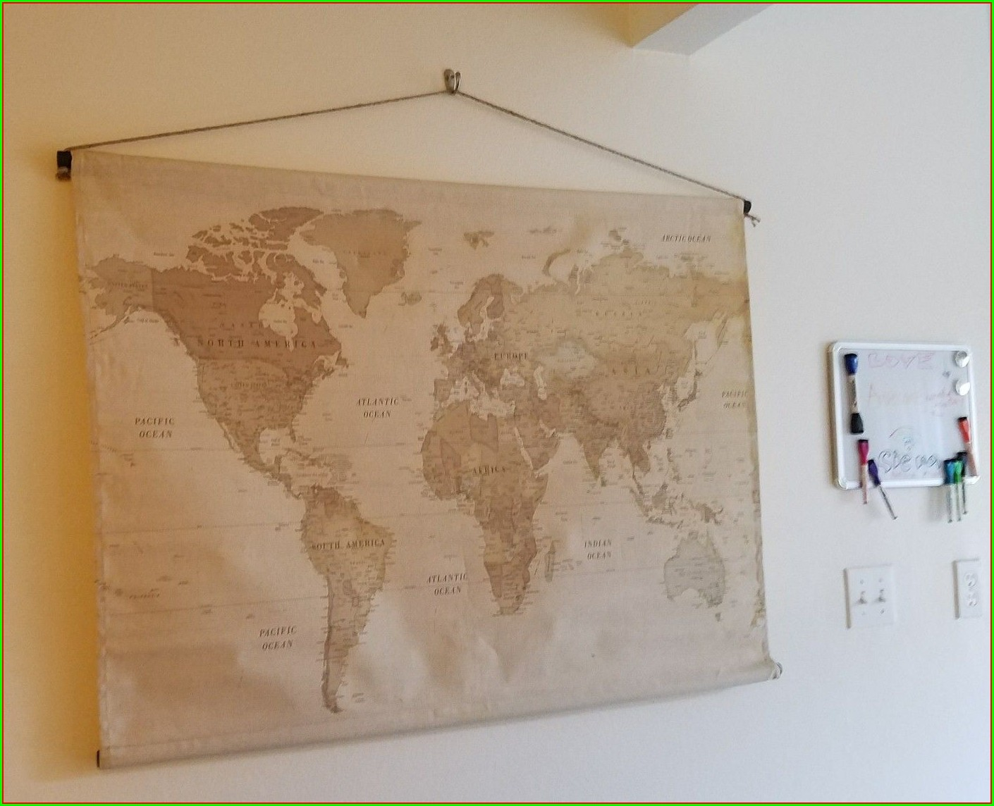 Hobby Lobby World Map
