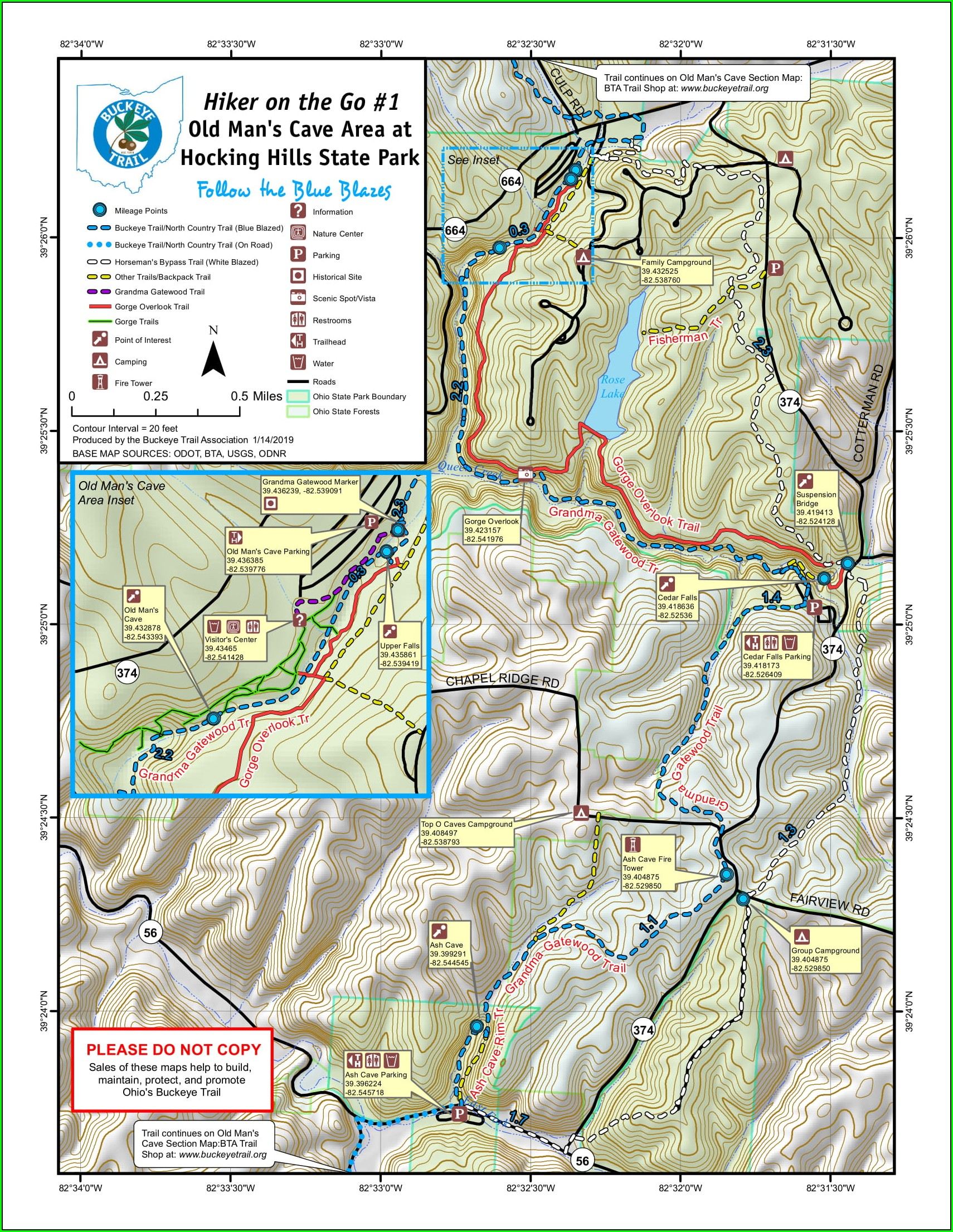 Hocking Hills State Park Campground Map Pdf