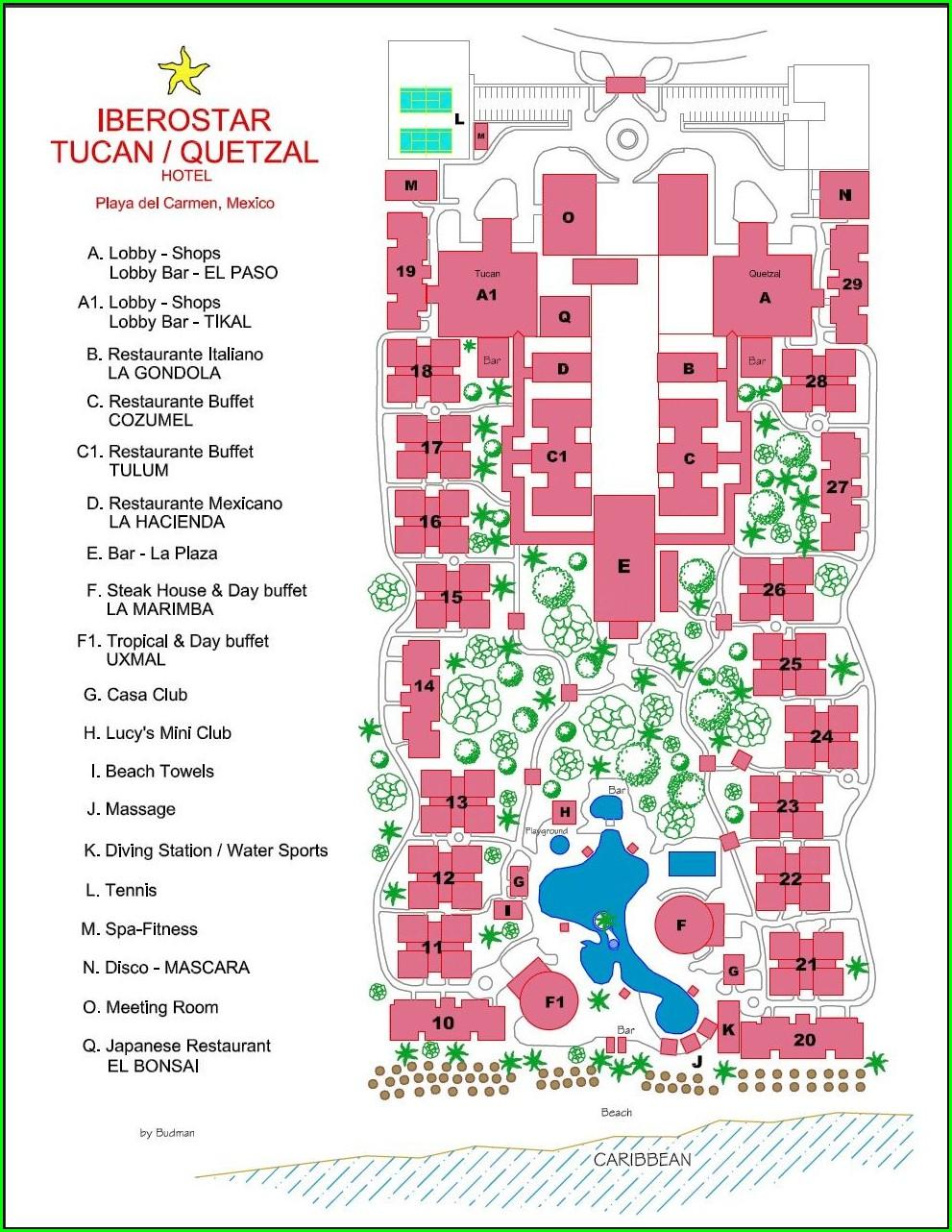 Hotel Xcaret Map Pdf