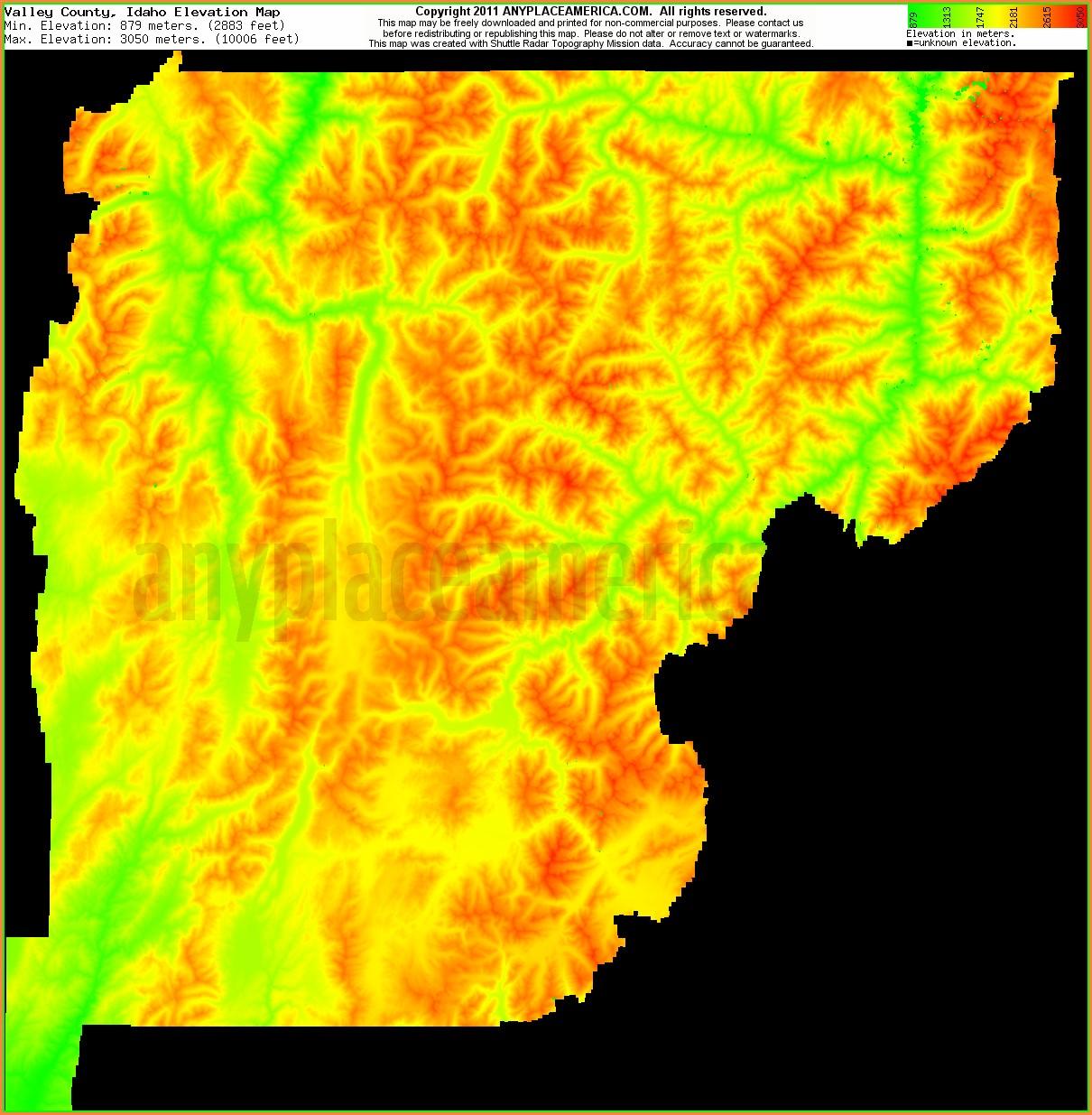 Idaho Topo Maps Free
