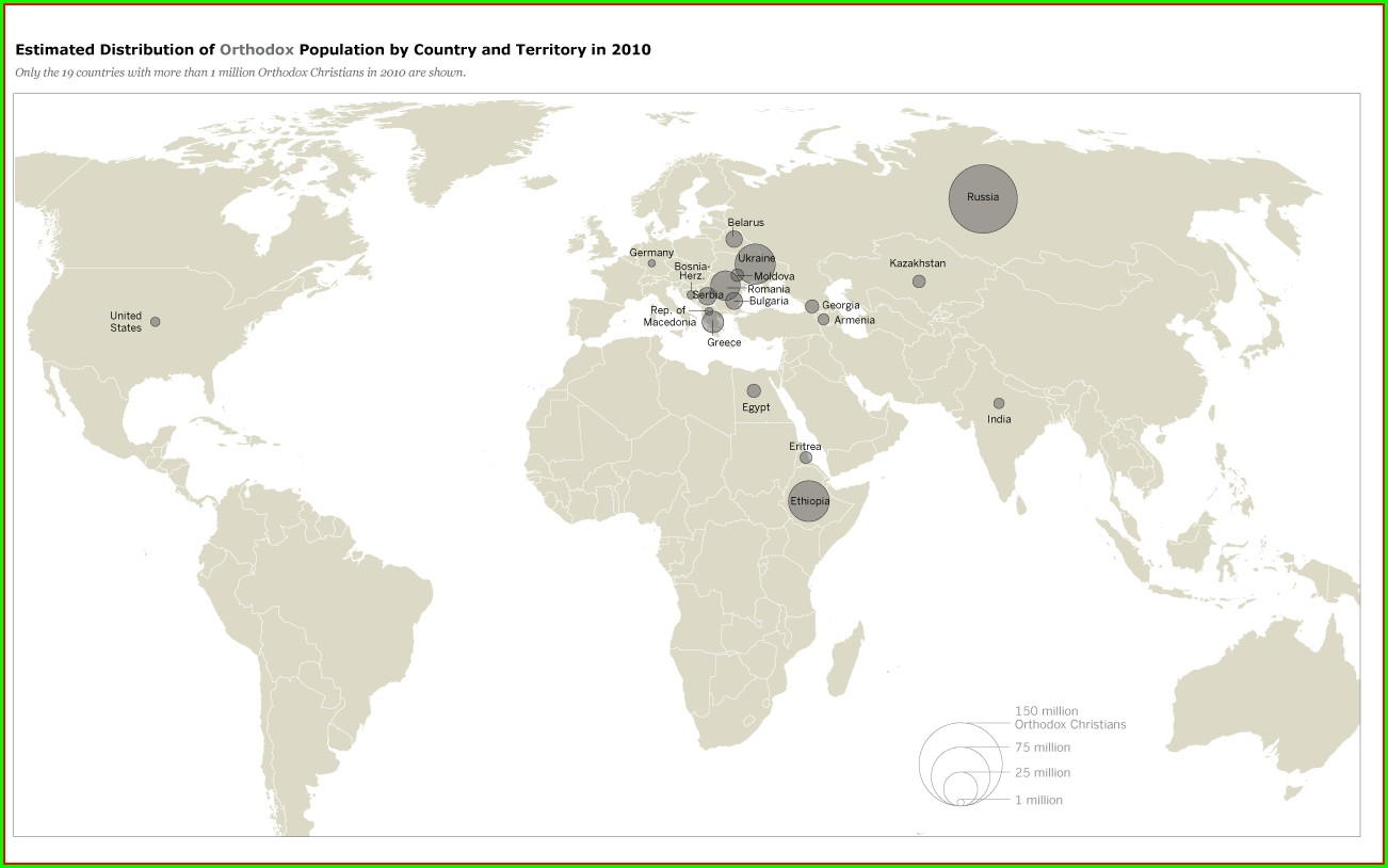 Interactive Population Map Of The World
