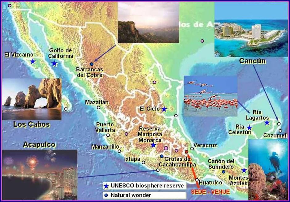 Ixtapa Zihuatanejo Mapa Turistico
