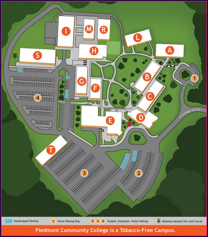 Jcc Campus Map Smithfield Nc