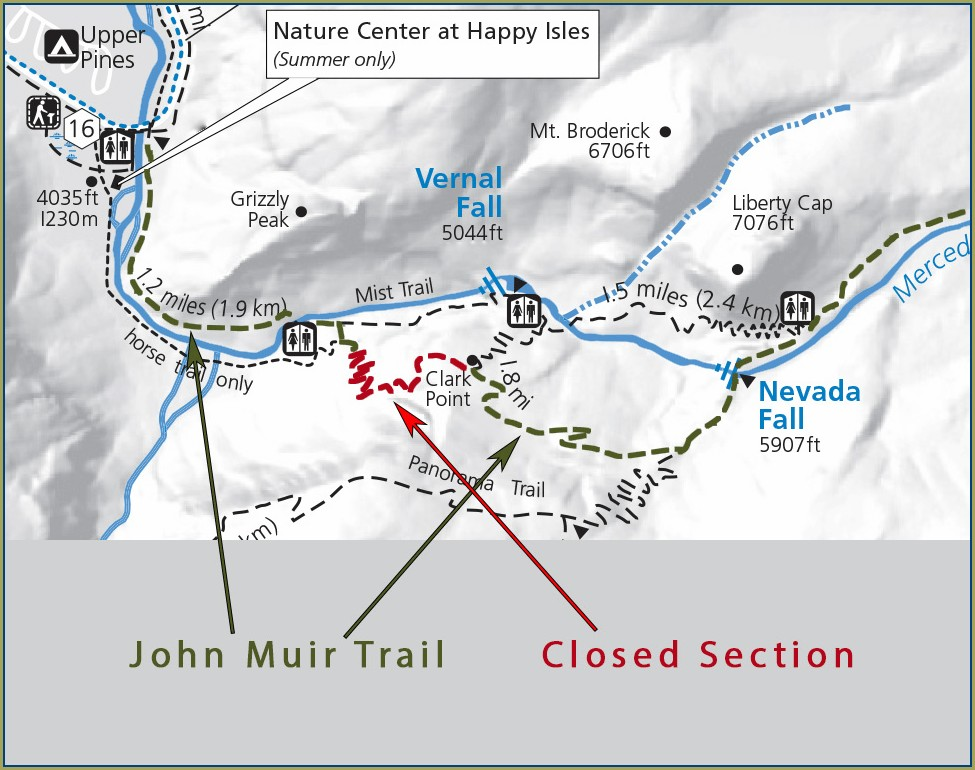 John Muir Trail Map Pdf