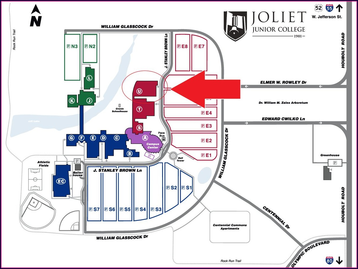 Joliet Junior College Campus Map