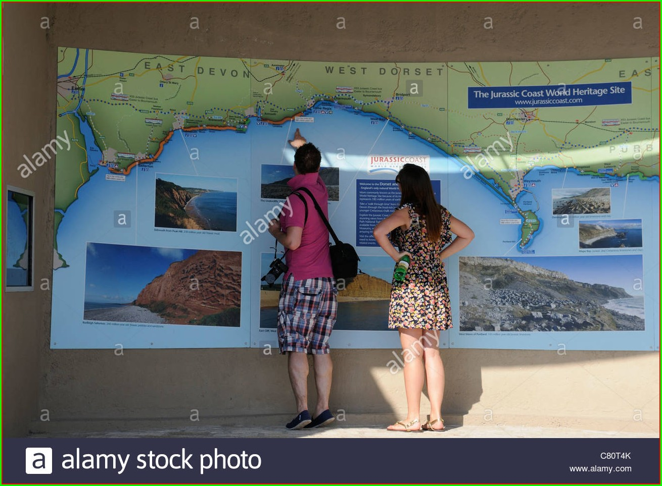 Jurassic Coast Map Uk