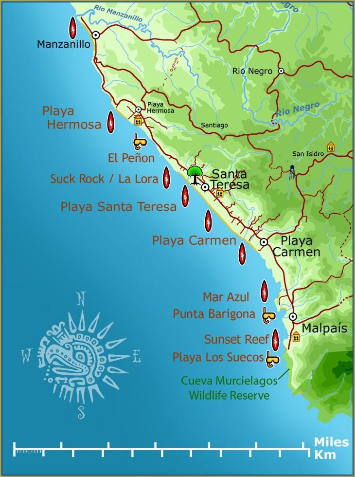 Kaiser Santa Teresa Map