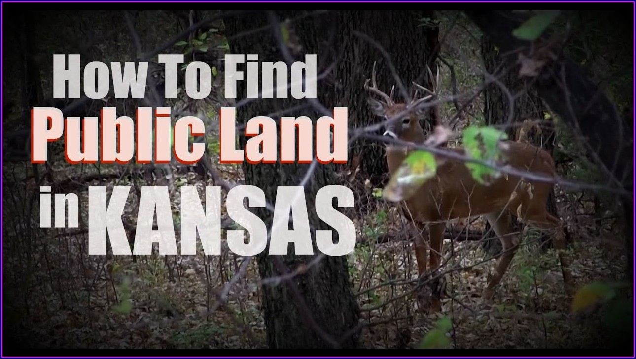 Kansas Public Hunting Land Map 2018
