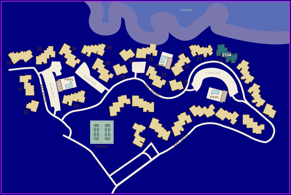 Kapalua Bay Villas Resort Map