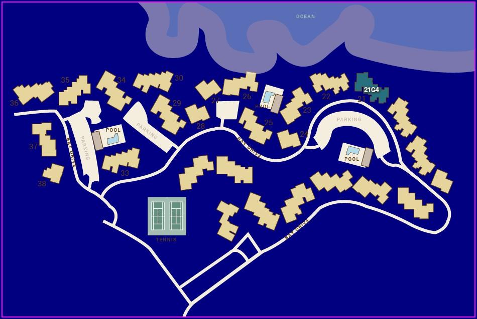 Kapalua Bay Villas Resort Map