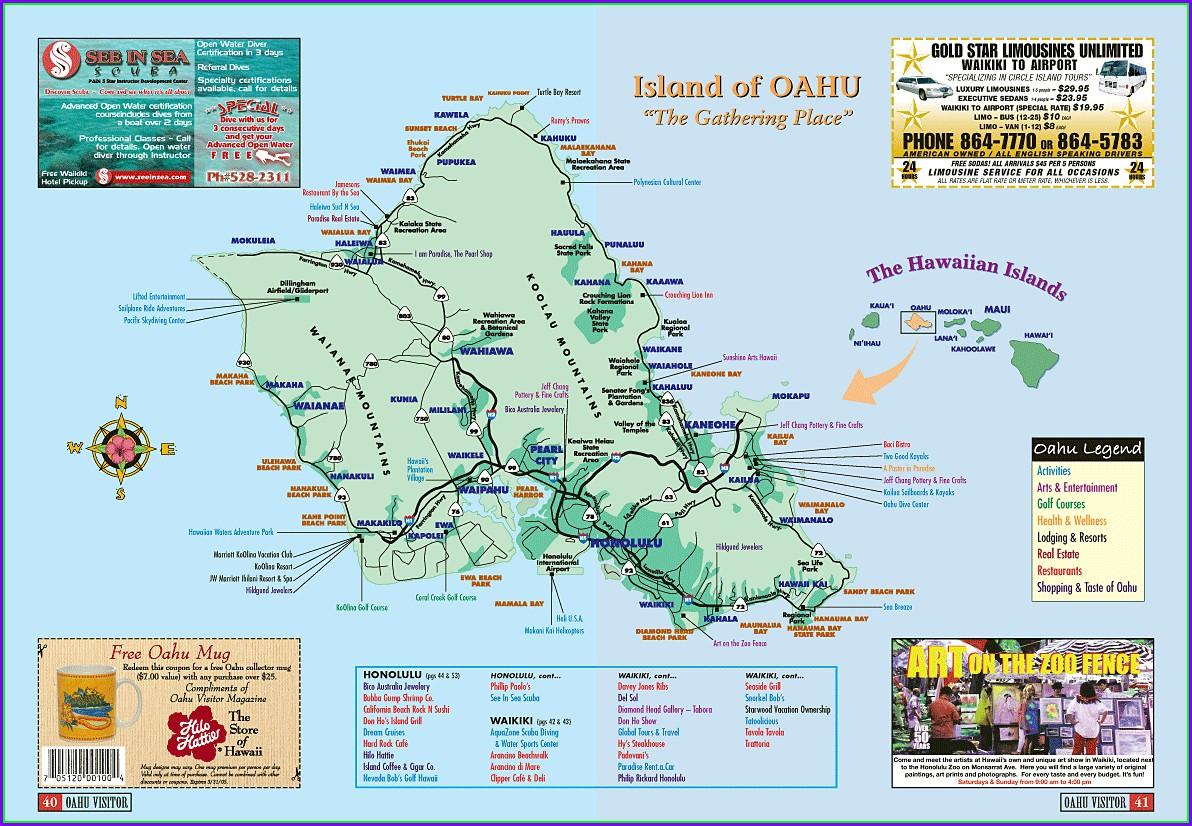 Ko Olina Oahu Map