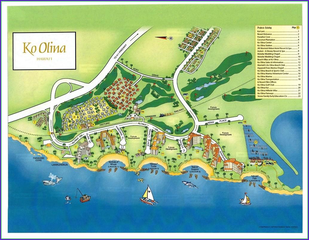 Ko Olina Resort Map