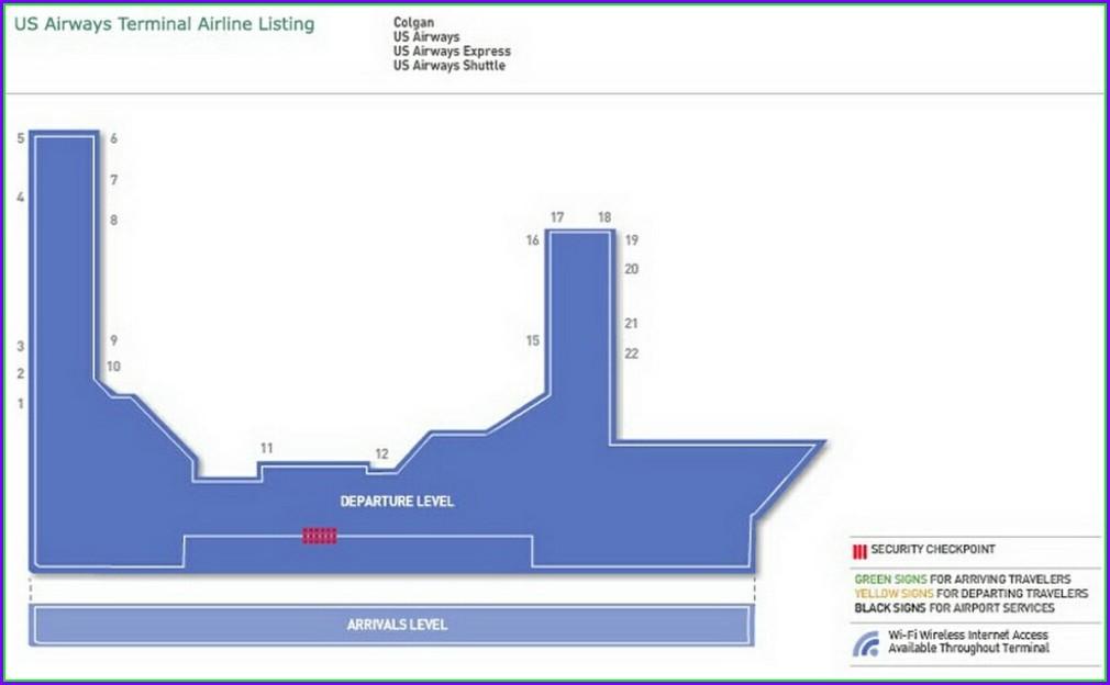 Laguardia Airport Terminal C Map