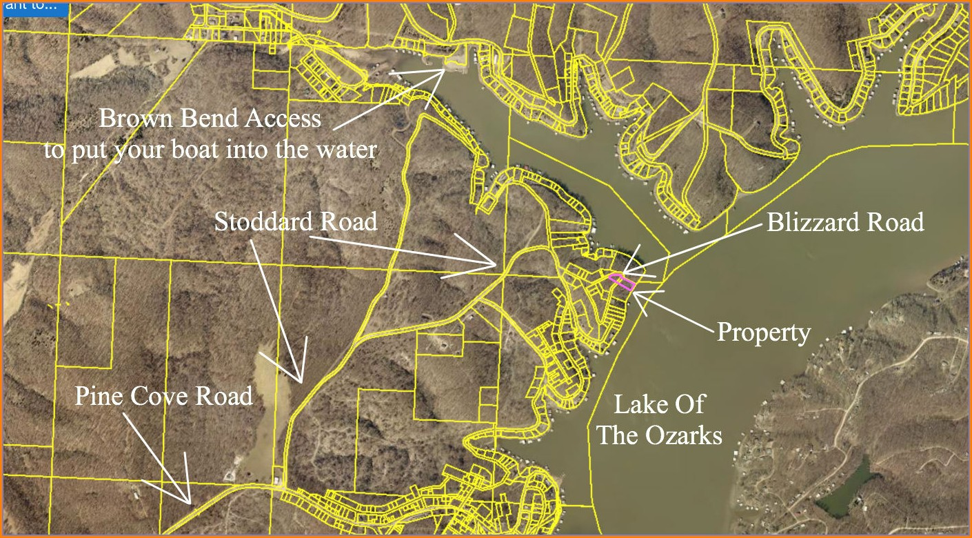 Lake Of The Ozarks Boat Launch Map