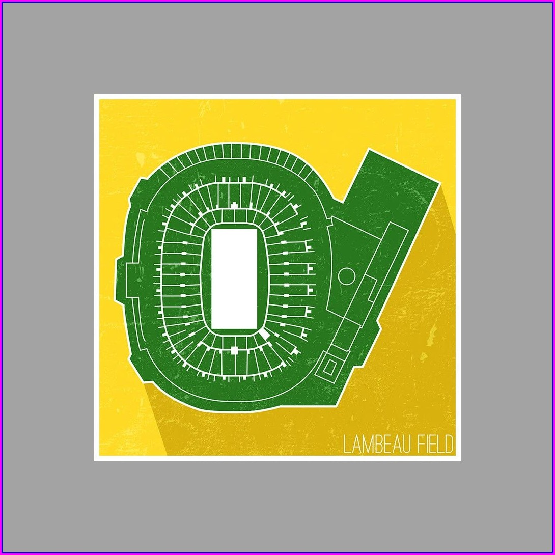 Lambeau Field Seating Map