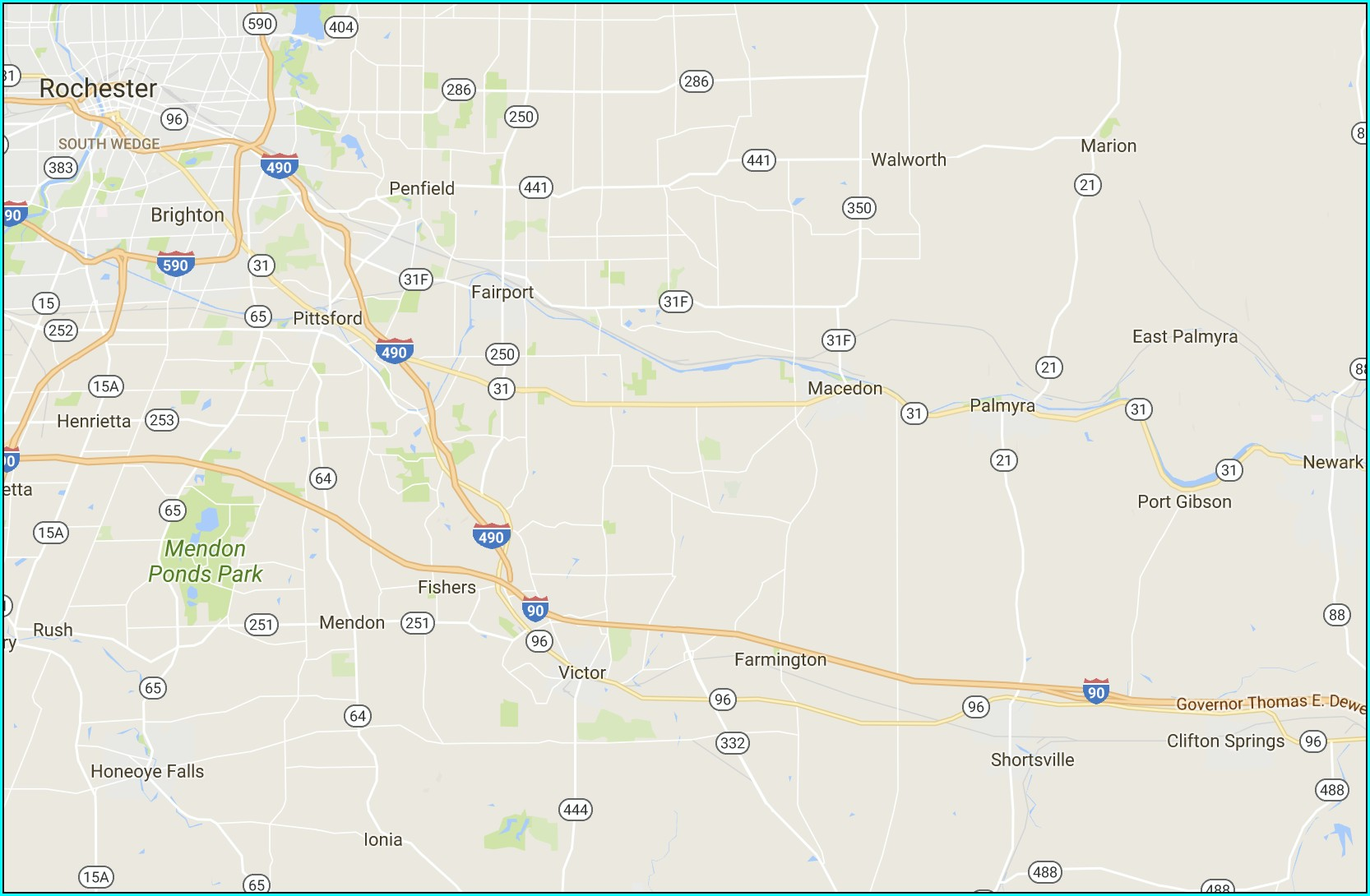 Lds Church History Tour Map
