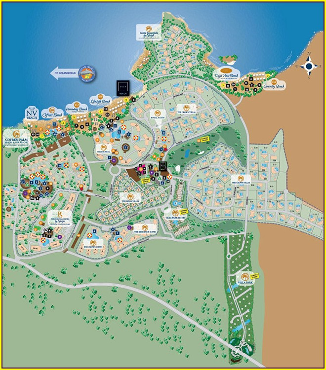 Lifestyle Resort Puerto Plata Map