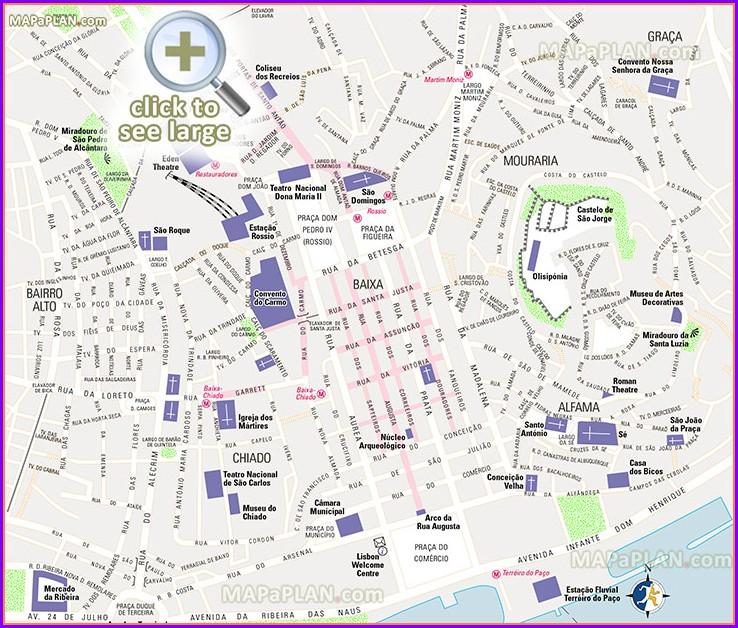 Lisbon Tram 28 Map Pdf