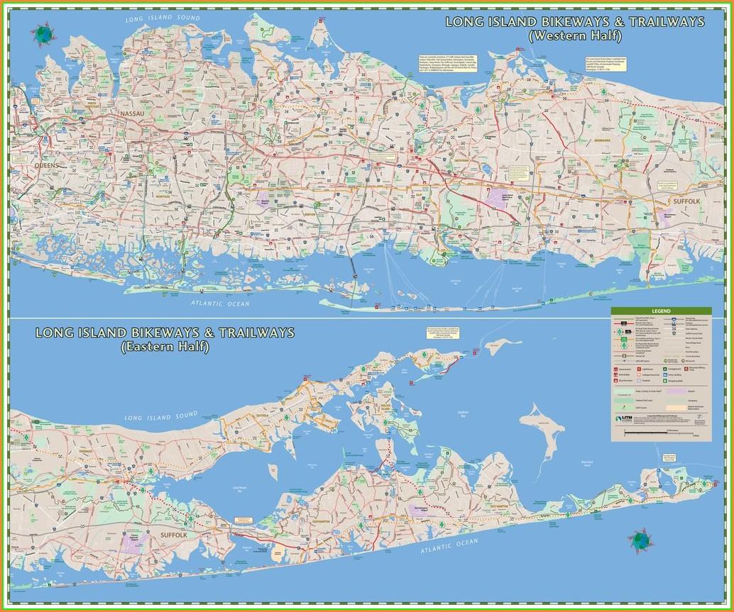 Long Island Greenbelt Trail Map Pdf