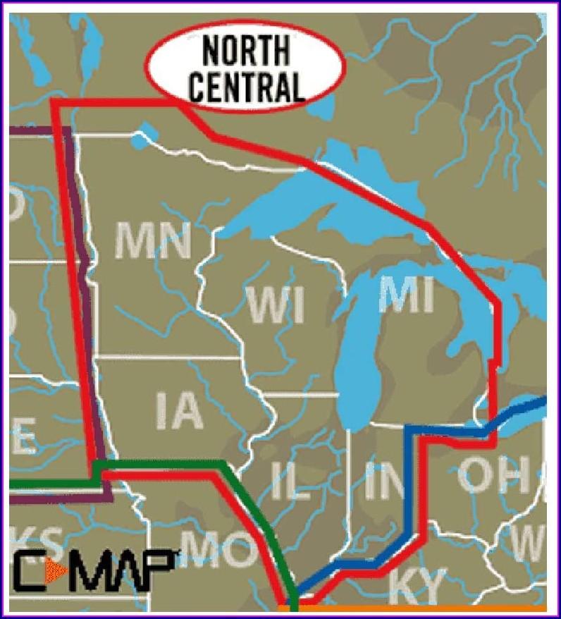 Lowrance Lake Maps List