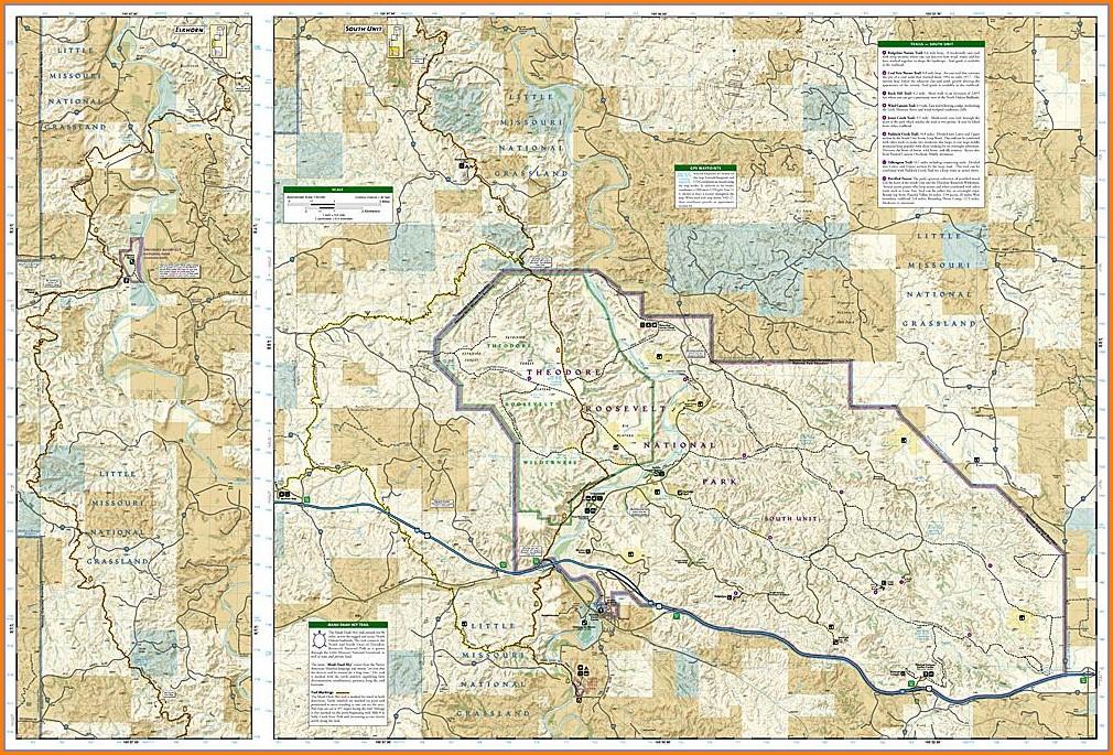 Maah Daah Hey Trail Map