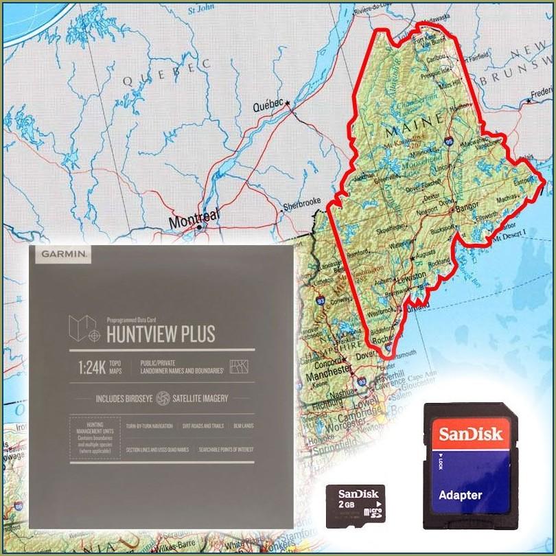 Maine Topo Maps Garmin