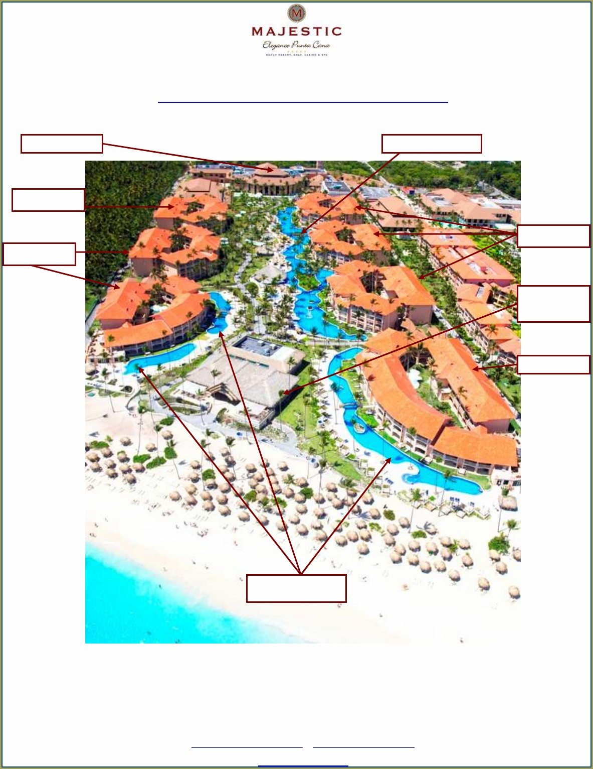Majestic Elegance Punta Cana Map Of Grounds