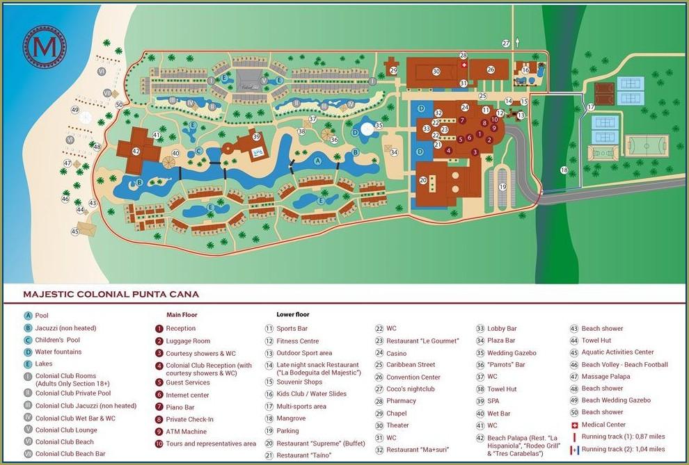 Majestic Elegance Punta Cana Map