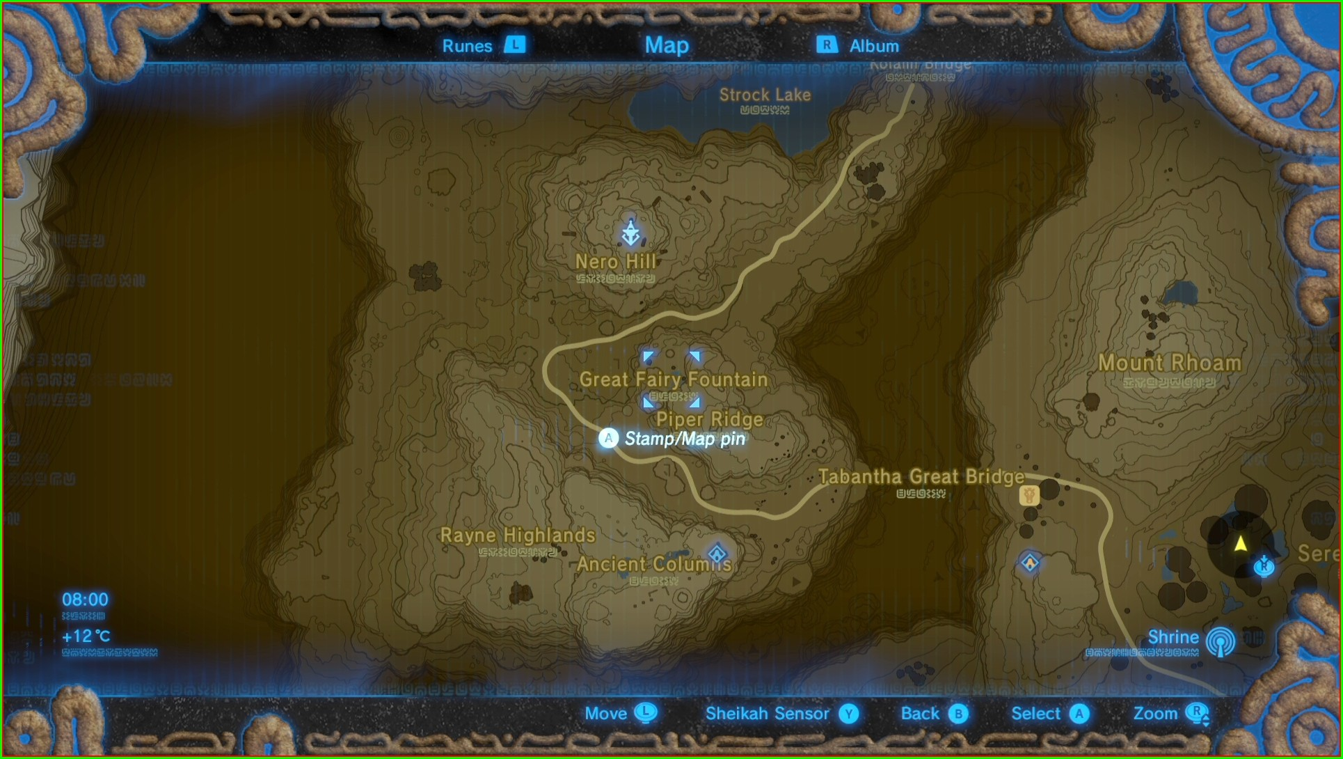 Map All Great Fairy Fountain Locations Botw
