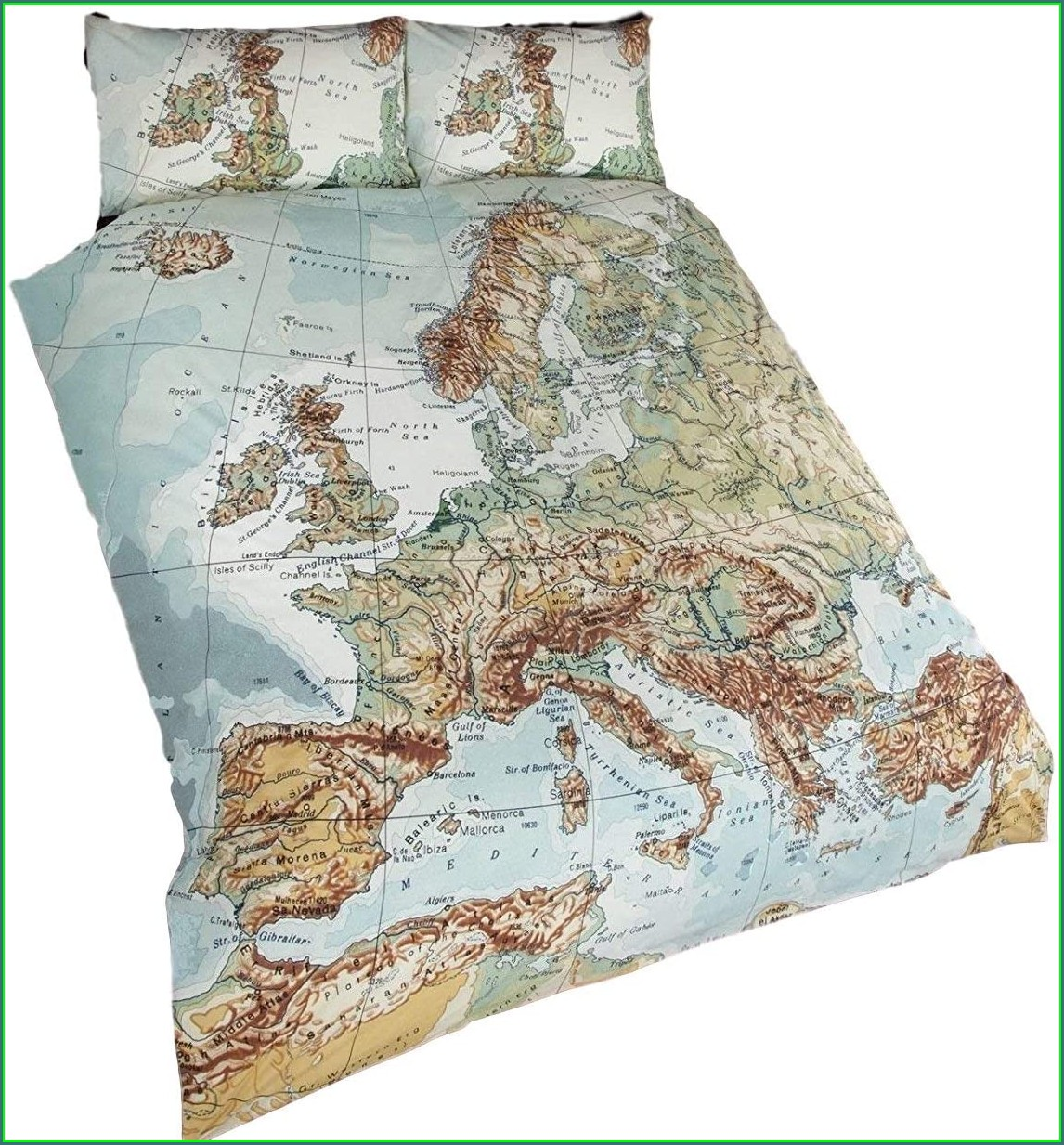 Map Duvet Cover Uk