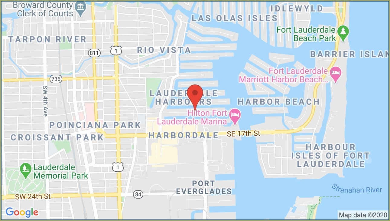 Map Of Fort Lauderdale Beach Hotels