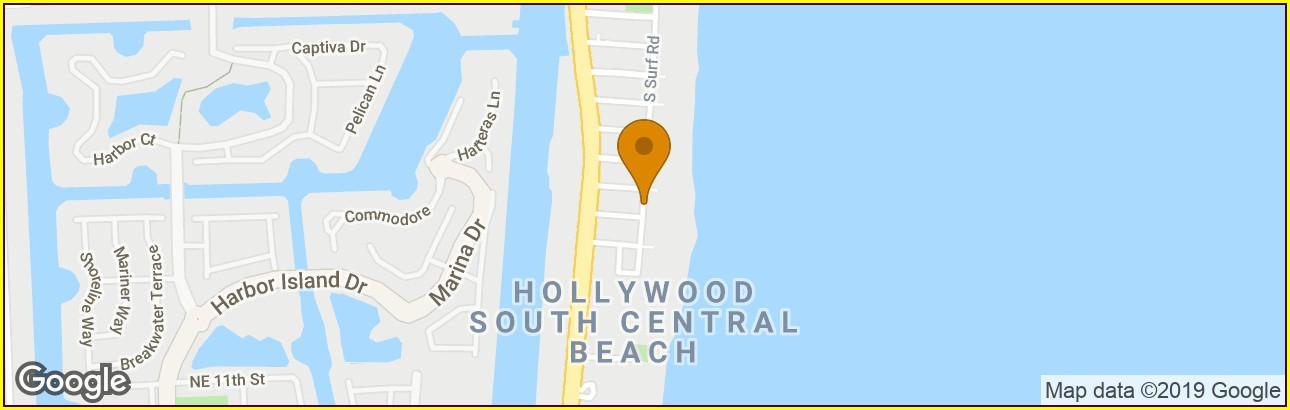 Map Of Hollywood Beach Hotels