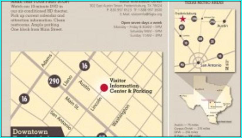 Map Of Hotels In Fredericksburg Tx