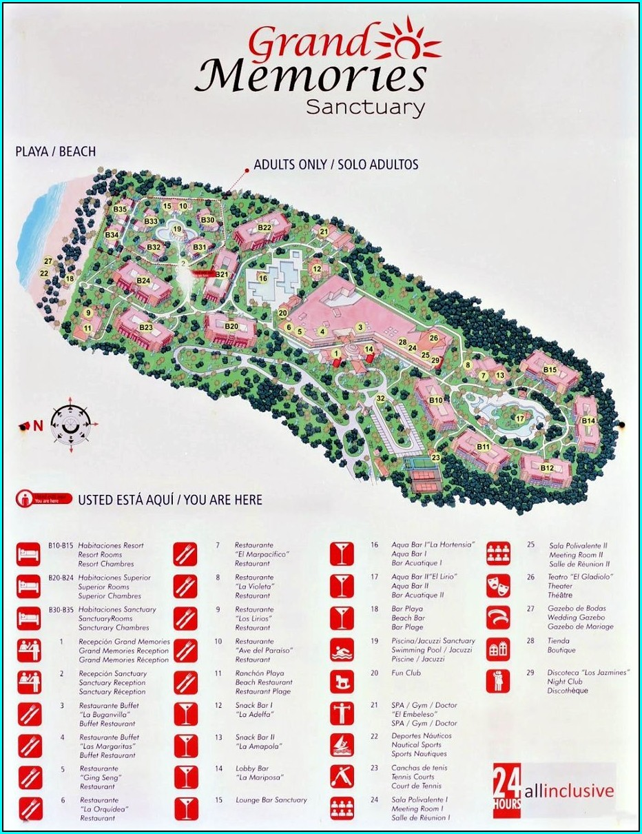Map Of Varadero Hotels 2019