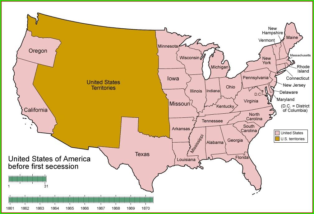 Map West Virginia Civil War