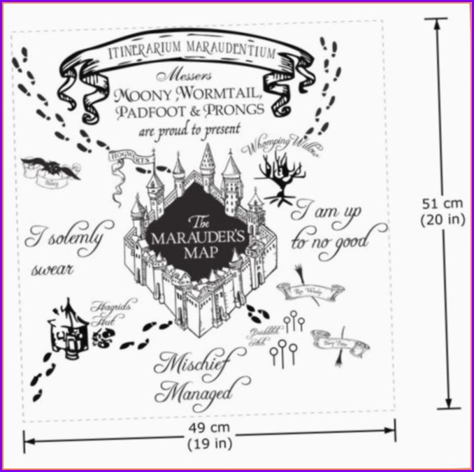 Marauders Map Wallpaper Ipad