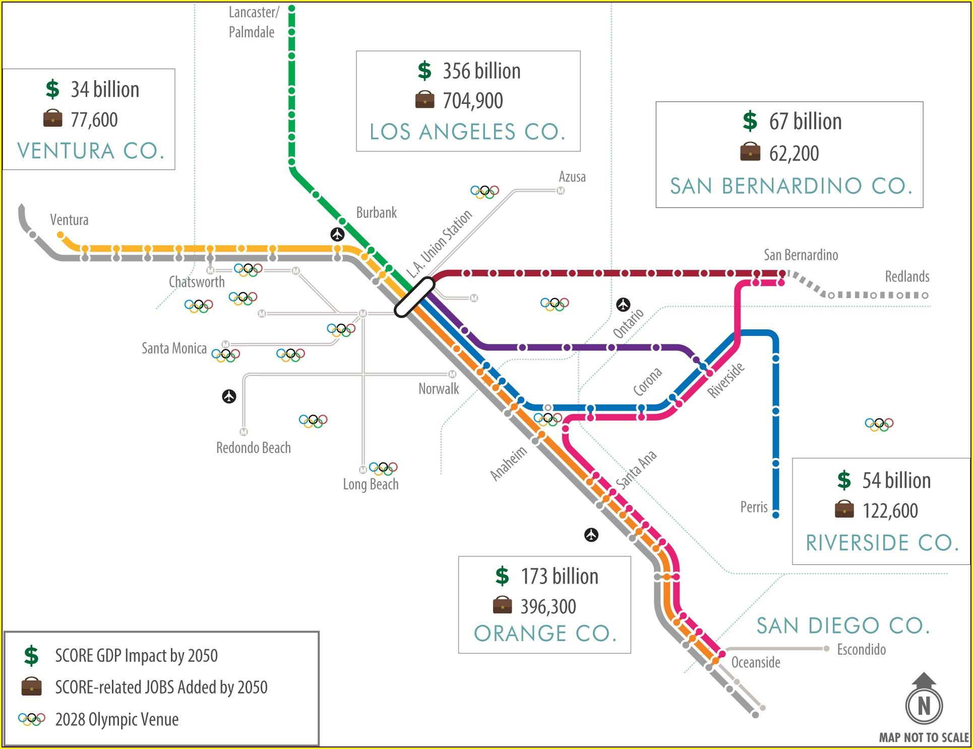 Metrolink San Bernardino Line Map