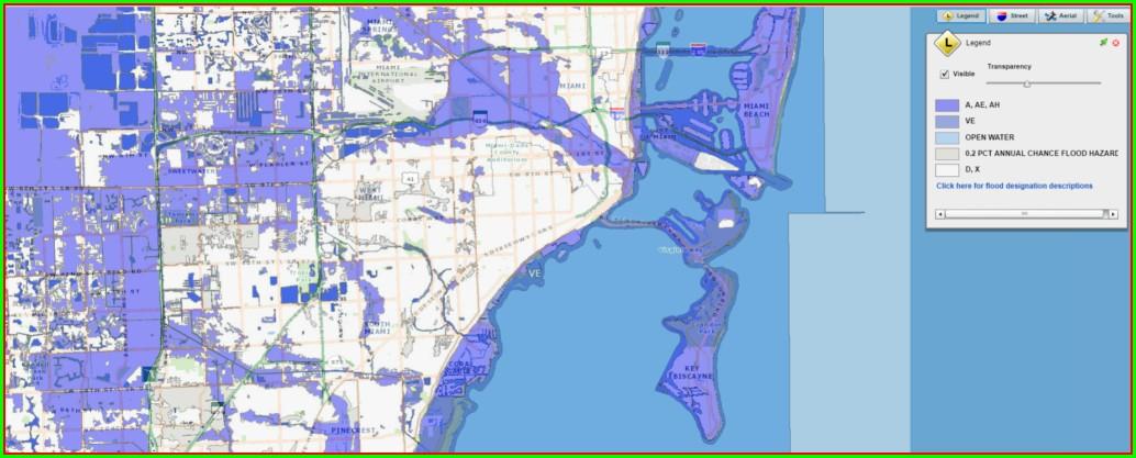 Miami Dade Flood Zone Map 2018