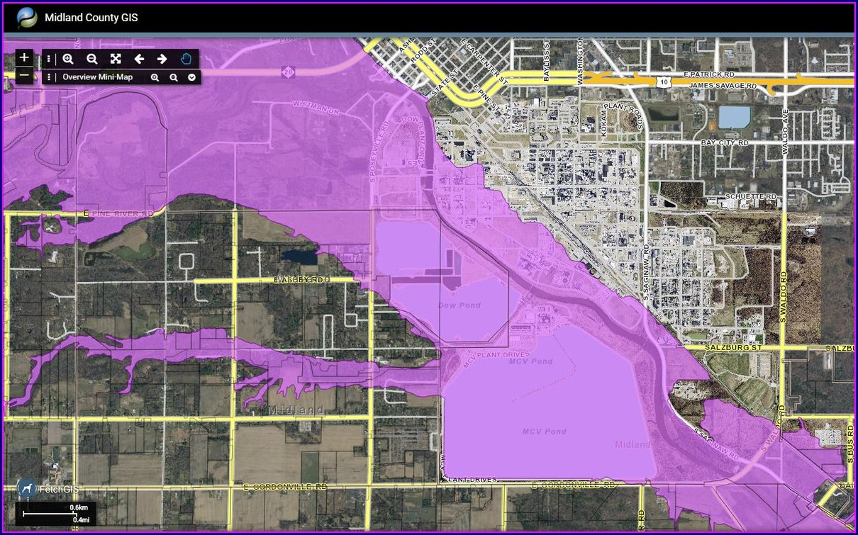 Midland County Gis Map Flood