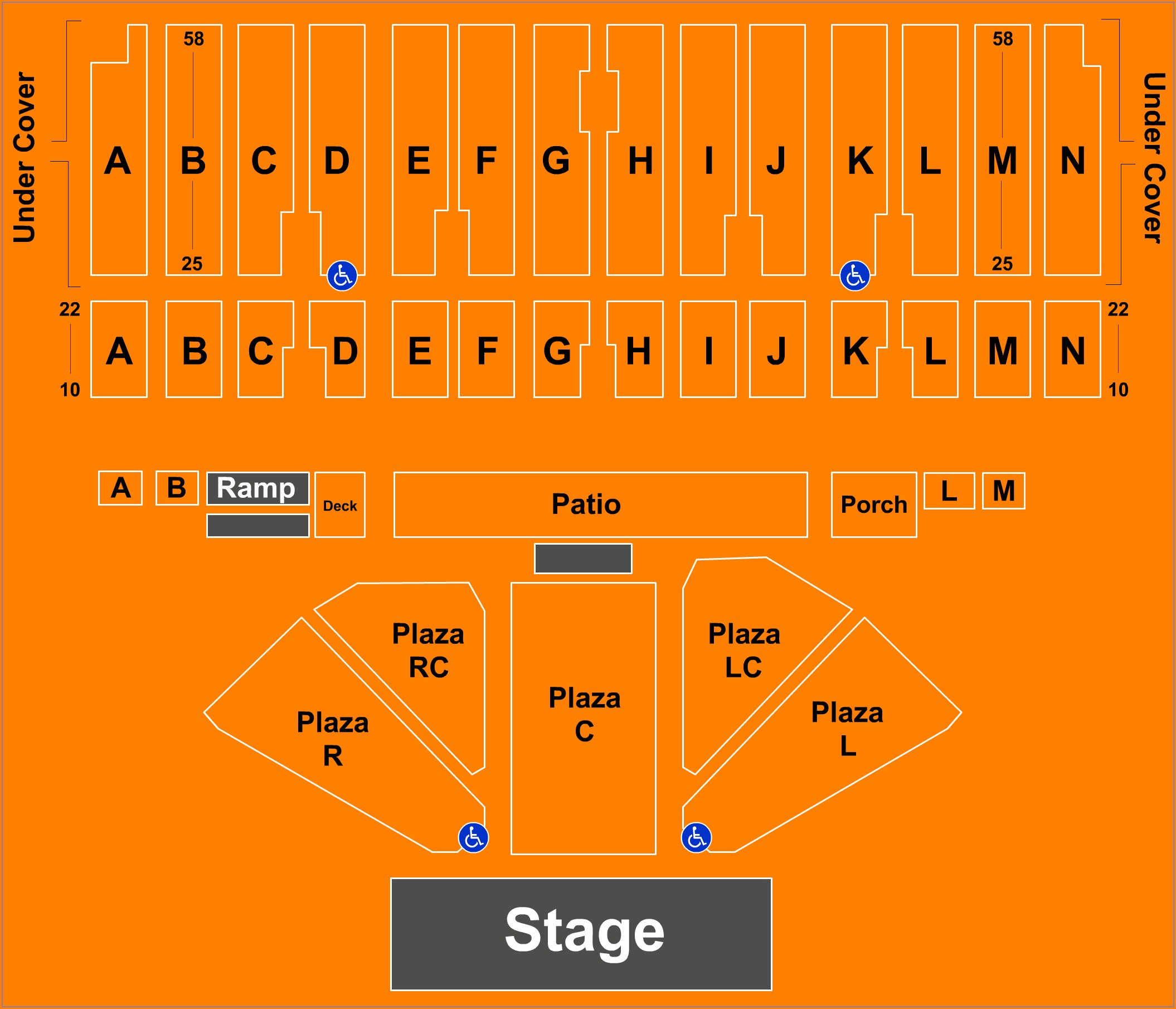 Minnesota State Fair Grandstand Seating Map