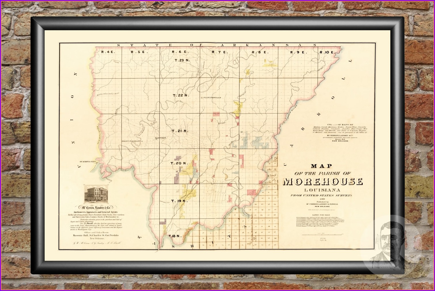 Missouri Plat Maps 1860