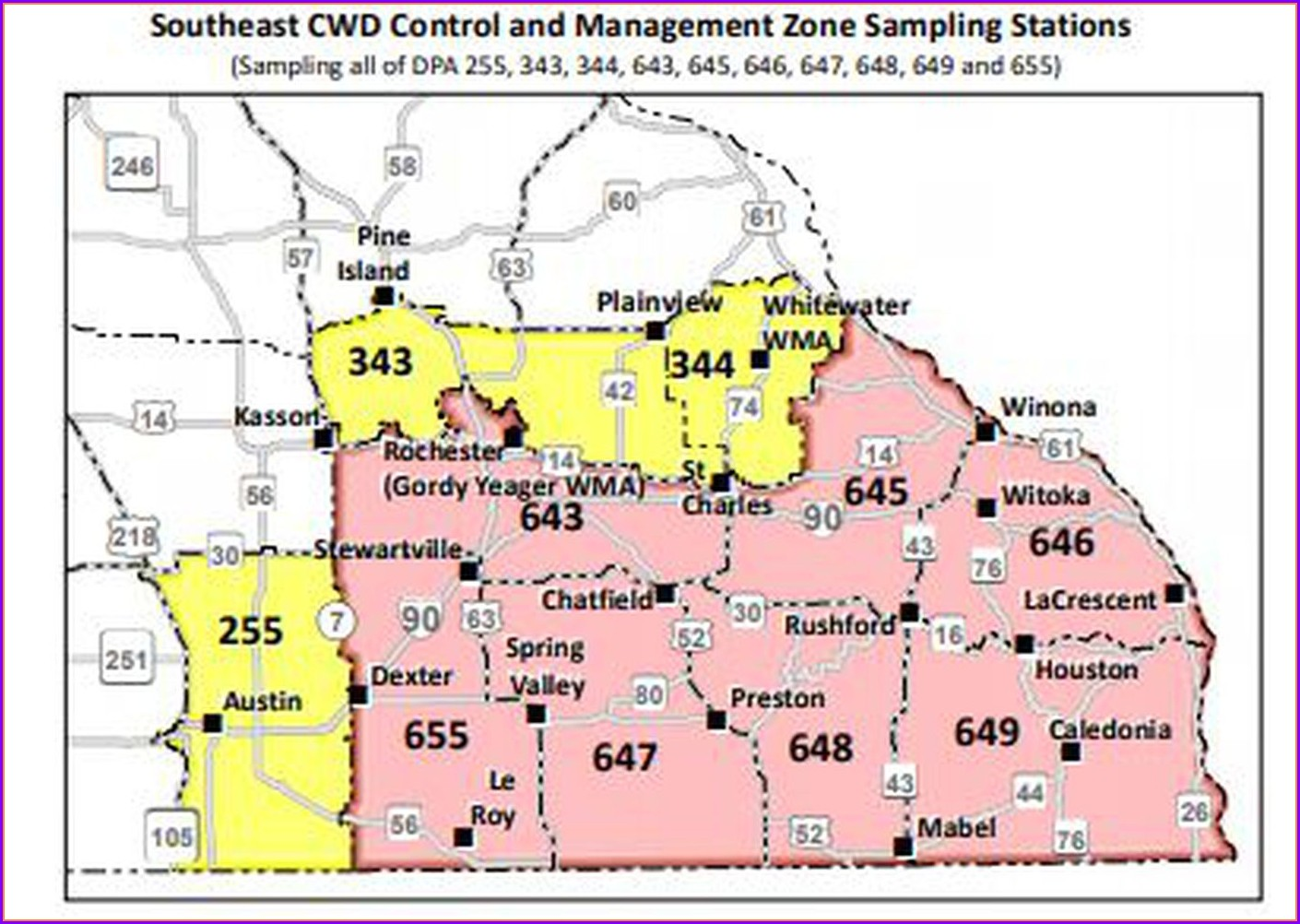Mn Dnr Hunting Map 2019