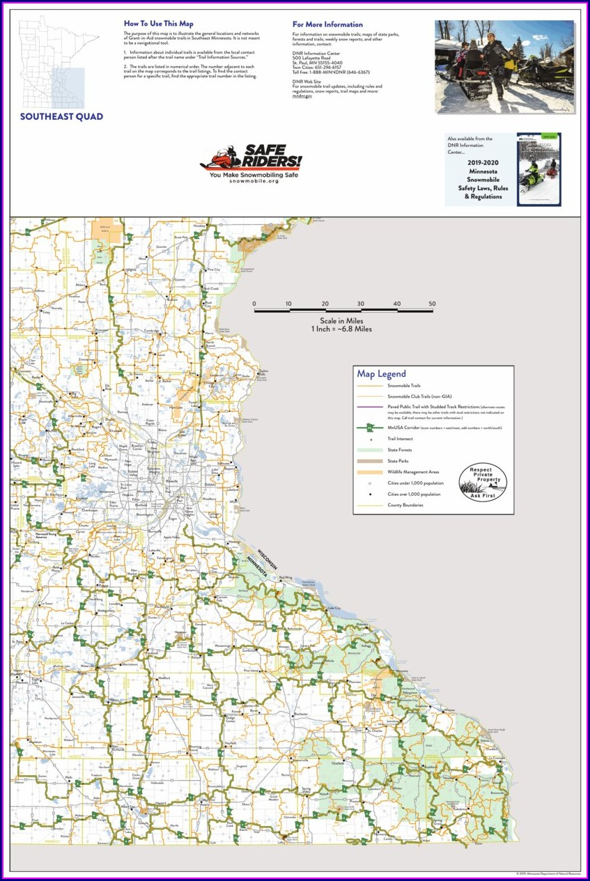 Mn Snowmobile Trail Map App