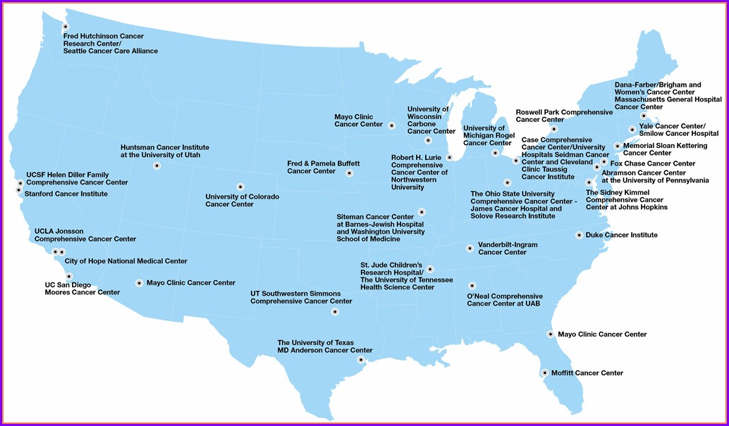 Moffitt Cancer Center Map