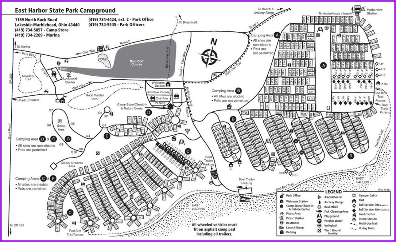 Mohican State Park Campground 2 Map