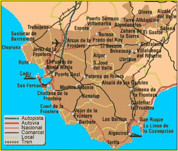 Moron Air Base Spain Map