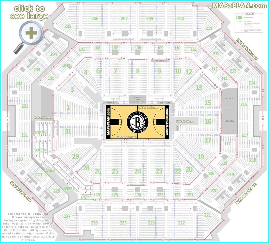 Msg Hockey Seating Map