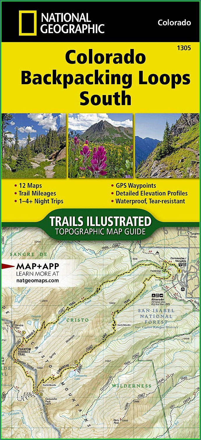 Nat Geo Topo Maps Colorado