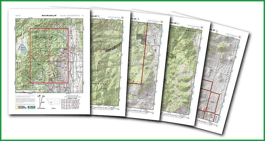 Nat Geo Topo Maps